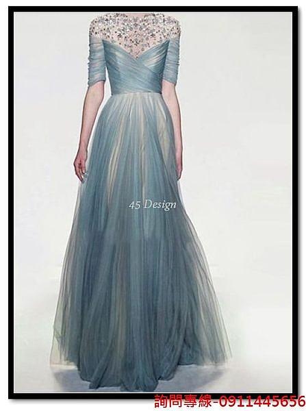 (45 Design) 訂做款式7天到貨  專業訂製 中大尺碼高檔定制  禮服訂製手工婚紗禮服 綁帶款式