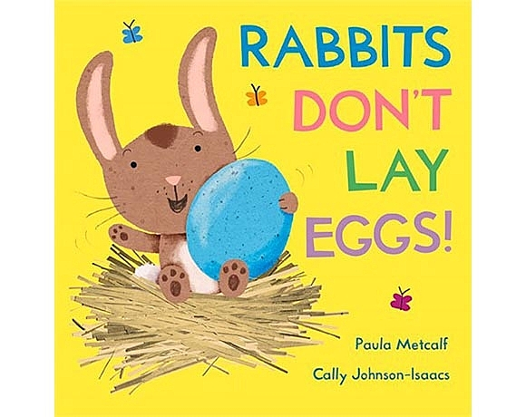 Rabbits Don't Lay Eggs! 到農場工作的兔兔 硬頁繪本書
