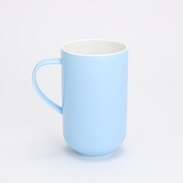 HOLA 漾采鎂質瓷馬克杯 680ml 藍