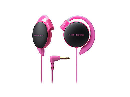 【台中平價鋪】 全新 鐵三角 ATH-EQ500 耳掛式耳機  軟質耳墊 粉紅 台灣鐵三角公司貨
