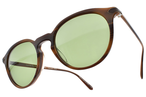OLIVER PEOPLES 偏光太陽眼鏡 RUE MARBEUF 1595O9 (咖啡) 經典復古款 # 金橘眼鏡