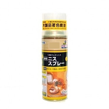 日本木器著色噴漆平光透明420ml
