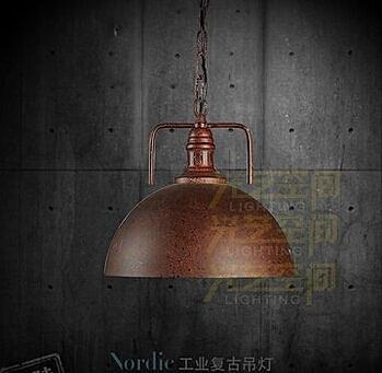 設計師美術精品館Loft 美式鄉村餐廳 歐式複古倉庫 酒吧裝飾工業風吊燈 新款做舊繡