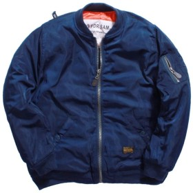 ShiSyan ジャケット メンズ メンズ空軍フライトジャケットジャケットカジュアルパッド入り野球のジャケット アウター 春秋 冬服 服 (Color : Blue, Size : XXXL)