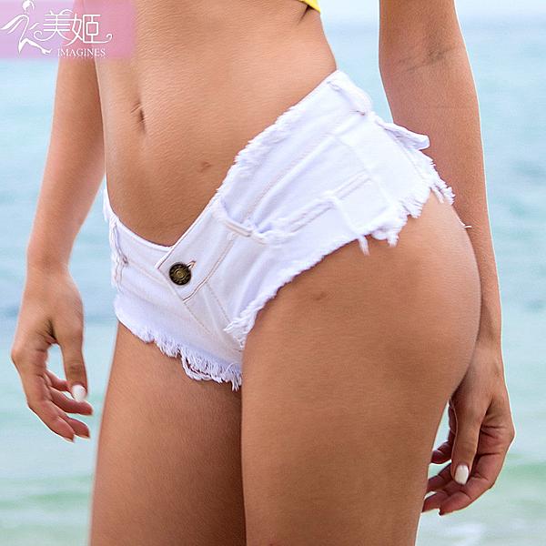 衣美姬♥歐美 露臀 性感牛仔短褲 沙灘夜店酒吧 低腰熱褲 暢銷熱賣款