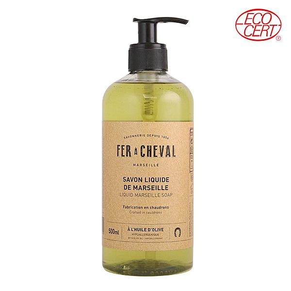 Fer à Cheval法拉夏 經典馬賽皂液(橄欖油) 500ml【BG Shop】