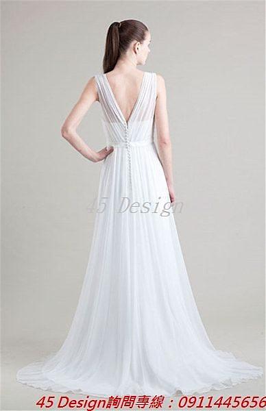 (45 Design) 訂做款式7天到貨 專業訂製款 大尺碼 定做顏色 新娘敬酒服晚宴宴會婚紗白紗胖MM
