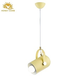 HONEY COMB 膠囊提把單吊燈 BL-11634 黃色