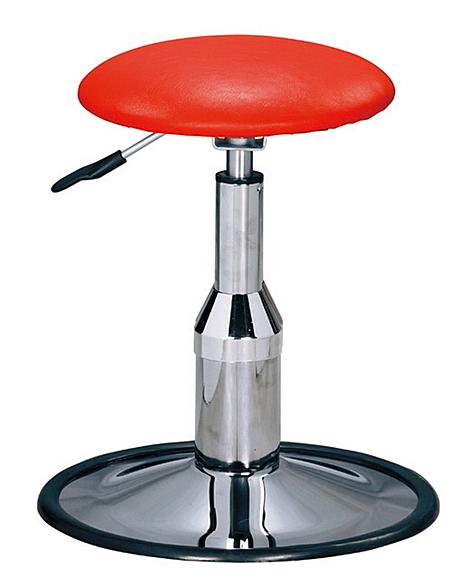 HY-816-4   B315A電金圓盤吧椅/造型椅-紅色 / 低