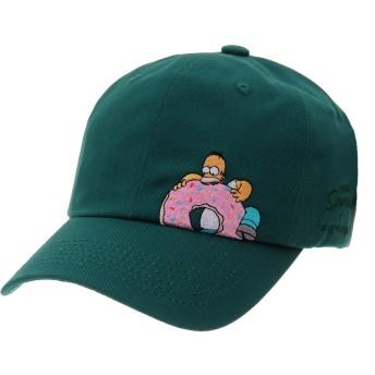 WITHMOONS野球帽キャップザ・シンプソンズ ボールキャップ レッドデビルズ バートシンプソンズ スナップバックHL1761(Green)