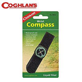 丹大戶外【Coghlans】加拿大 WRIST COMPASS 腕帶式指北針 8652