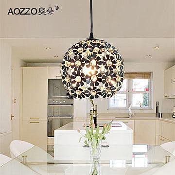 水晶吊燈現代簡約客廳燈創意餐廳燈臥室吧檯燈飾燈具