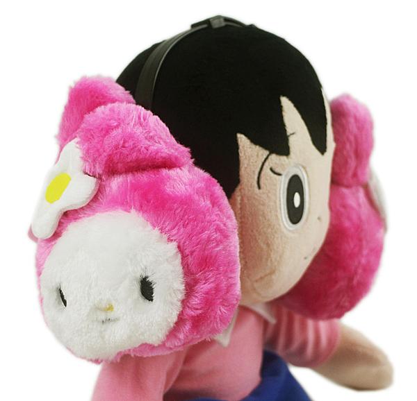 【卡漫城】 美樂蒂 耳罩 ㊣版 Melody 三麗歐 絨毛 女生 冬季 保暖 裝飾 配件 可伸縮 收納