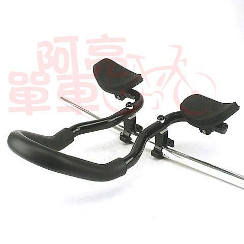*阿亮單車*TranzX 一體式休息把手,泡棉包覆增加舒適性,黑色《A53-523》