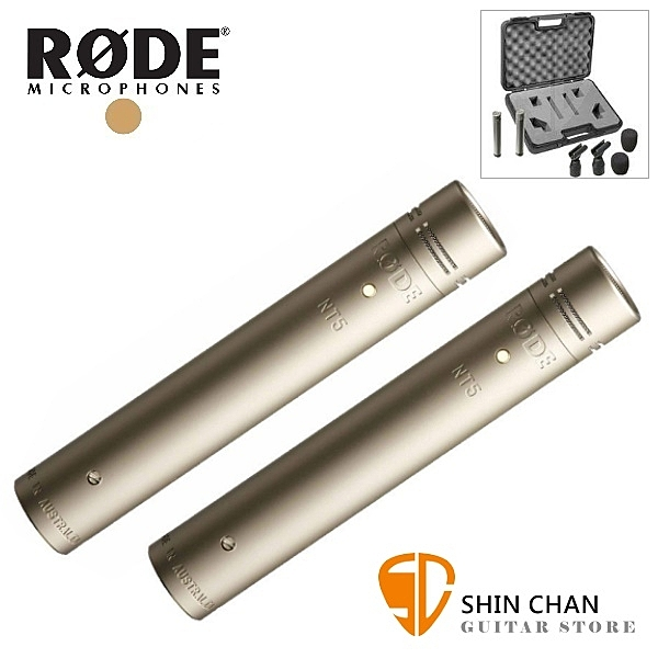 RODE NT5MP 電容式麥克風 / 一對二支 收音麥克風/樂器麥克風/直播/錄音 RDNT5MP