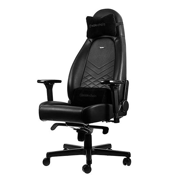 Noblechairs 皇家 電競賽車椅(全黑) ICON-001