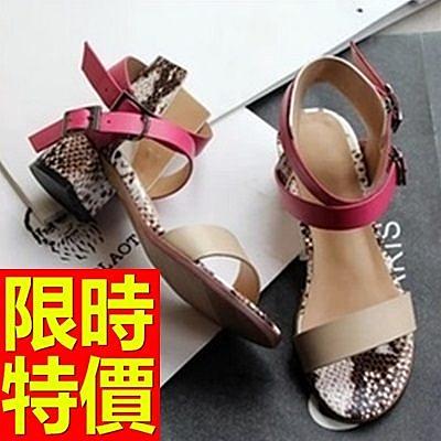 涼鞋-高跟好搭造型熱賣優雅女休閒鞋56l8【巴黎精品】