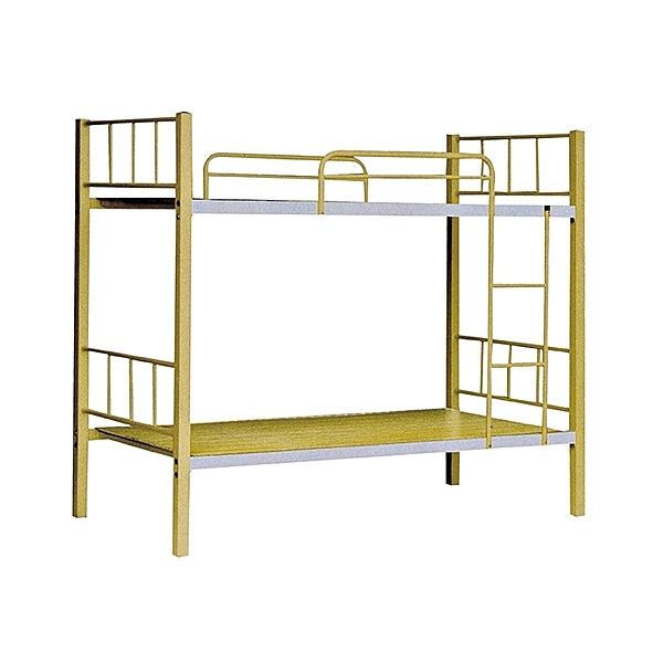 米黃色3尺雙鐵床(20SP/100-2)/H&D東稻家居