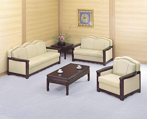 MS43-CS-989-3  高級沙發-緹花布-3人座-單張-不含茶几