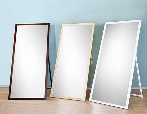 (促銷) 寬84公分超大型立鏡 全身鏡 掛鏡 穿衣鏡 (安全防爆鏡片) 型號MR1884 立掛兩用