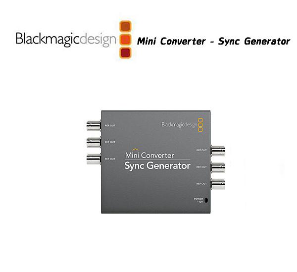 黑熊館 Blackmagic 黑魔法 Mini Converter Sync Generator 迷你轉換器