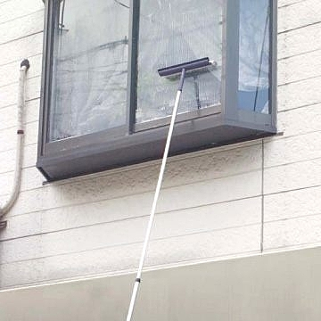 【日本TERAMOTO】伸縮鋁柄洗窗刷 250cm