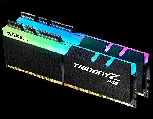 G.SKILL 芝奇 Trident Z RGB 幻光戟 DDR4 3200 CL16 16GB (8GBx2) 雙通道 記憶體 F4-3200C16D-16GTZR