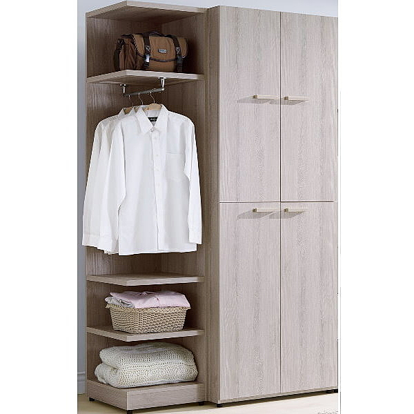 衣櫃 衣櫥 TV-78-23 珊蒂4尺衣櫥【大眾家居舘】