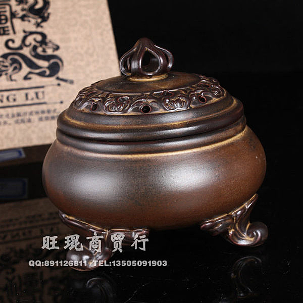 德商香道陶瓷吉祥熏香爐