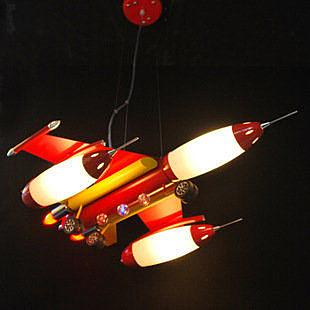 兒童飛機吊燈