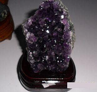 紫晶簇紫晶碎片紫晶簇擺件