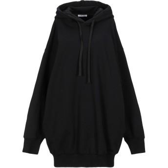 《セール開催中》KRIZIA レディース スウェットシャツ ブラック 38 コットン 100%