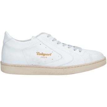 《セール開催中》VALSPORT メンズ スニーカー&テニスシューズ(ローカット) ホワイト 41.5 革