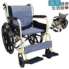 【海夫健康生活館】富士康 鋁合金 雙層不折背 輕型輪椅 (FZK-2B)