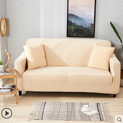 防潑水防猫抓沙發套 四季通用型 素色全包 二人沙發系列2 (145-185cm適用)