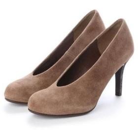 アンタイトル シューズ UNTITLED shoes パンプス (ブラウンスエード)