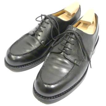 J.M.WESTON 641 GOLF Uチップシューズ ブラック サイズ:5.5D(25.0cm) (南船場店) 191203