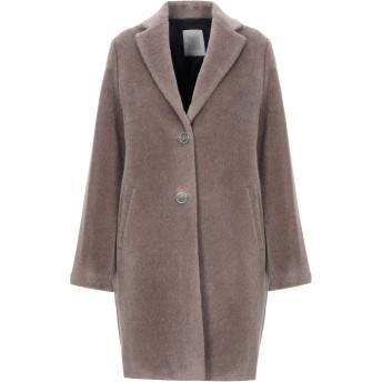 《セール開催中》ELEVENTY レディース コート ドーブグレー 38 毛(アルパカ) 65% / ウール 35%