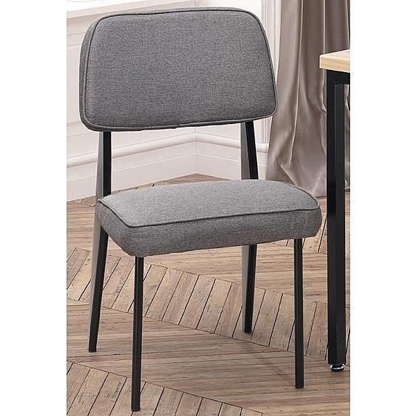 餐椅 TV-421-2 格瑞斯灰布餐椅【大眾家居舘】