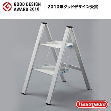 【長谷川Hasegawa設計好梯】SJ 設計踏台/工作梯-2階雪狐銀(56cm)