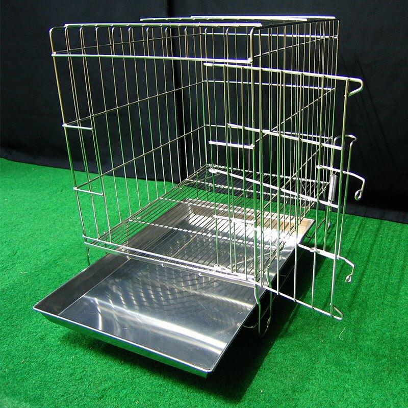 兔屋 寵物屋 兔窩 寵物狗籠 圍欄 隔板 尿盤 吊籠 1.5尺固定式兔籠  不鏽鋼固定式1.5尺白鐵線籠 空間特工