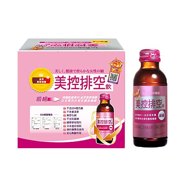 美控排空飲 100ml x 6瓶【屈臣氏】