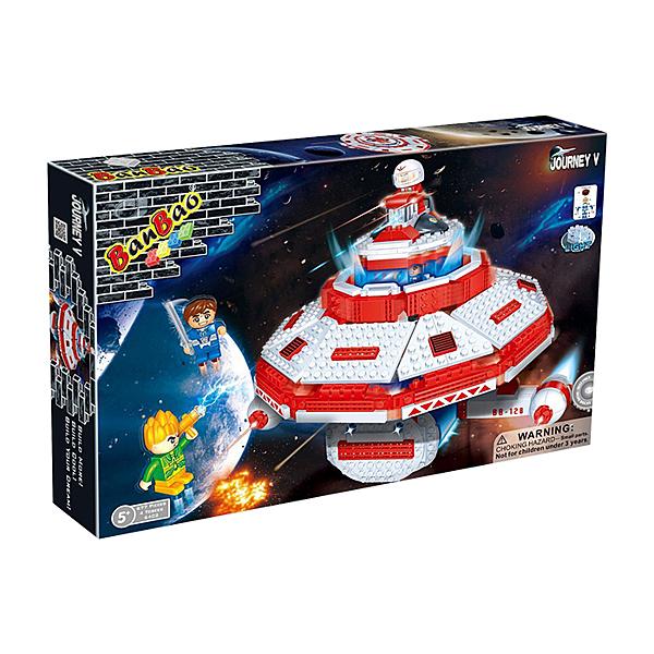 太空系列 NO.6402太空母艦 星際大戰 大盒【BanBao邦寶積木楚崴】