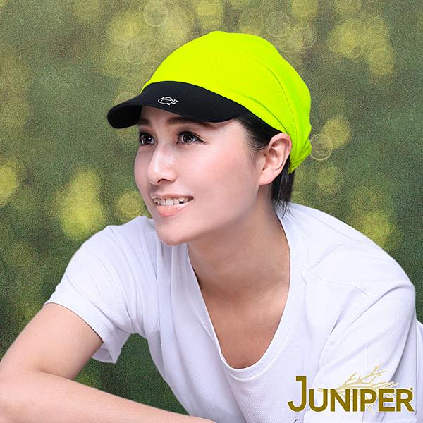 運動帽子-吸濕排汗慢跑馬拉松單車針織軟眉休閒帽J7517A JUNIPER