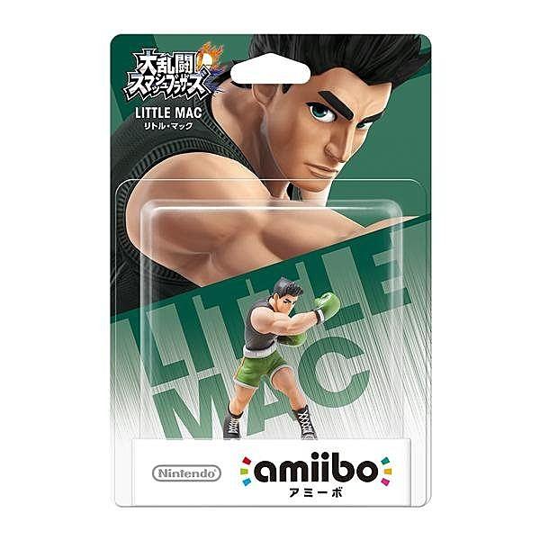 Wii U 任天堂明星大亂鬥 近距離無線連線 NFC 連動人偶 amiibo 小麥克 LITTLE MAC【玩樂小熊】