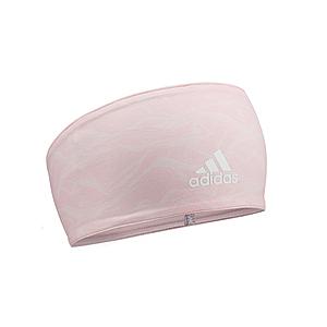 Adidas雙面高彈性吸汗頭帶(石紋橙)
