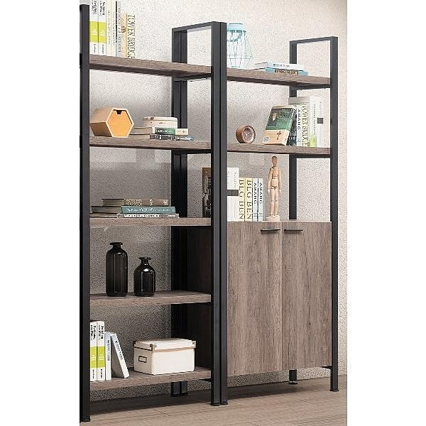 書櫃 書櫥 TV-387-6A 保羅古橡木5.4尺書櫃【大眾家居舘】