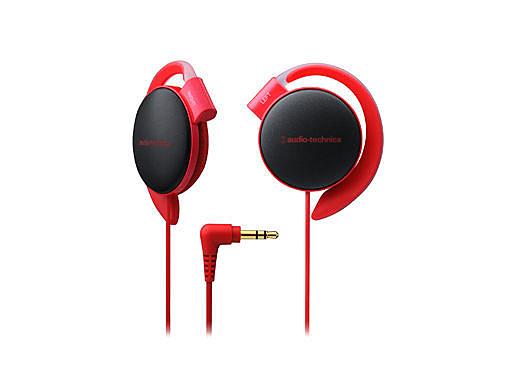 【台中平價鋪】 全新 鐵三角 ATH-EQ500 耳掛式耳機  軟質耳墊 紅色 台灣鐵三角公司貨
