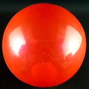 [衣林時尚] 充氣皮球 紅色素面 約16cm 針狀打氣孔