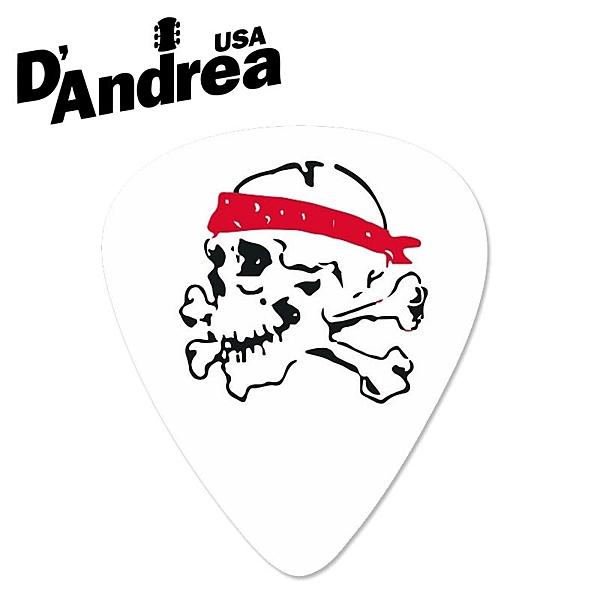 小叮噹的店- PICK 彈片 美國 D Andrea Ace Skull RSB351 兩種規格